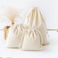 Cadeau cadeau en draps de coton de coton de coton à la main Cadeaux cadeaux emballage sac à monnaie sac à monnaie pour hommes / femmes