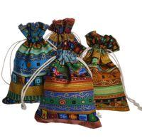 Случайно варежные хлопковые льняные пакеты египетского стиля подарочная сумка ювелирных изделий упаковочная сумка