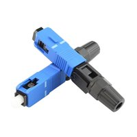 Faseroptikausrüstung SC Quick Connector Multimode FTTH Single Mode UPC Fast (10pcs, 50pcs, 100pcs für Option)