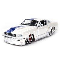 Maisto 1:24 1967 Ford Mustang GT Sportwagen Statische Die Gussfahrzeuge Sammeln Modell Auto Spielzeug Z1202