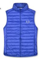 Новая мода зимняя куртка мужчины пуховики пары вниз жилет пуховик Parka верхняя одежда многоцветный размер m-2xl