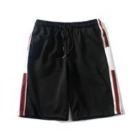 20ss 남성 액티브 반바지 패션 패턴 스웨트 팬츠 Drawstring Trackpants 여름 새로운 반바지 2021 고품질 4 색 아시아 크기