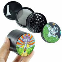 Meuleuses d'alliage de zinc en alliage de tabac de broyeur avec 3Layer pour les tuyaux fumeurs