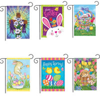 Desenhos animados, ovo, bandeira, páscoa, jardim, coelho, animais, animais, desenhos animados, bandeiras, bandeira, jarda, jardim, decoração, bandeiras, bandeiras, festa, suprimentos, wy528 hb