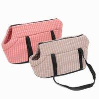 لينة الحيوانات الأليفة الكلب الكتف أكياس محمية تحمل حقيبة الظهر كلب الناقل جرو السفر للكلاب الصغيرة انخفاض الشحن