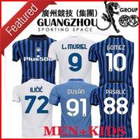 20 21 21 Atalanta Cup League Kids Than Away Soccer Jerseys Home Duvan Gomez de Roon Feule Ilicic 2021 2020 Maglie da calcio Camicia da calcio calcio