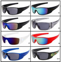 2018 Brand New Okulary Okulary Womendriving Galss Gogle Cycling Sport Oślenie Okulary Mężczyźni Odbijający Powłoka Sun Glass A ++ 11 Kolory