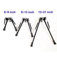 6 ~ 9, 9 ~ 13,13 ~ 21 pollici Tactical Harris Style Bipod Design leggero Design w / o Adattatore