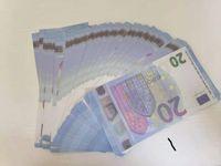 2021 Neue Produktfabrik Direkter Vertrieb von Kinderspielzeug, Freizeit- und Unterhaltungsstützen, 20 Euro-Banknoten
