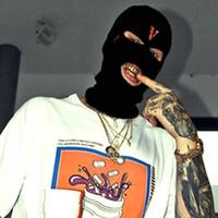 2021 Yeni Hip Hop V POP Mağaza Guerrilla Mağazası, Yün Kapakları ve Soğuk Kapaklar Giymek İçin Haydut Kafalarını Sınırlar Çift amaçlı haydut maskeleri