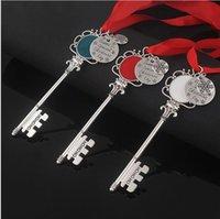 Heißer Verkauf Neue Weihnachten Keychain Magie Santa Claus Schlüssel Anhänger Ornamente Weihnachten Halloween Weihnachtsgeschenke WQ36
