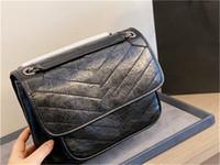 2021 Lüks Tasarımcı Çanta Yüksek Kaliteli Büyük Kapasiteli Baskılı Deri Bayanlar Çanta Boyutu: Orta 28 cm Küçük 24 cm Moda ve High-end Çanta Çanta