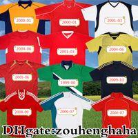 Jersey de football classique Rush de Rush Dalglish de rétro 1998 99 00 2001 02 03 04 05 06 07 08 09 10 Chemise de football