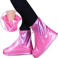 Copertura unisex Overshoes Reusable Impermeabile PVC Protector PVC Stivali da pioggia antiscivolo Più nuovi accessori scarpe XH14QP