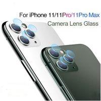 iPhone 11 Pro Max XR XS x 6 7 8 플러스 백 카메라 렌즈 스크린 프로텍터 2.5D 강화 유리 보호 필름 소매 상자