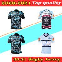2020 2021 Queensland Maroons Malou Cronulla tubarões rugby jersey guerreiros guerreiro preto guerreiro Tailândia adulto rugby camisa s-5xl personalizado