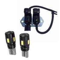 Аварийные огни 3 шт. Автомобильные аксессуары: 2 светодиода T10 5730 6smd 12v лампочки 1 вакуумный коммутатор электромагнитный клапан для Mitsubishi1