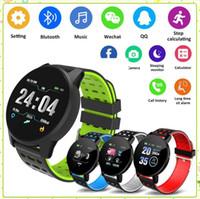 119 Plus 119Plus Smart Watch Armband Blutdruck Runde Bluetooth Smartwatch Wasserdichter Sport Tracker für Android iOS MQ20