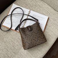 Pink sugao shoulder bag designer handbag lady new fashion purse 2020 hot sales handbag pu leather bucket bag lady shopping bag