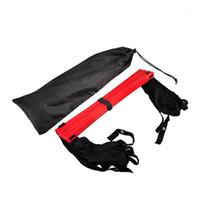Outdoor-Sport Fußball-Geschwindigkeitsleiter dauerhaft einstellbar 5 Meter PP Nylon 9 Runde Agility-Leiter-Fußball-Training-Ausrüstung1