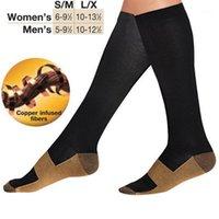 Novo design de moda 4 pc meias de compressão unisex são melhores para executar meias esportivas tamanho livre meias1