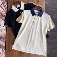 2020 Nouveaux Designers T-shirts Mens Polo Chemise Luxurys T-shirt Été T-shirt Hommes T-shirt Mode Femmes Vêtements Polos Top Tees G2069