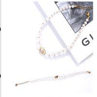 Ensemble de bracelet de collier de perles de bijoux de luxe