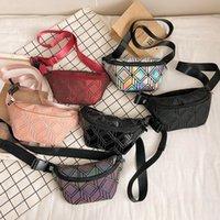 أزياء أكياس الخصر مضيئة للنساء 2021 الخصر فاني حزم حزام حقيبة أعلى جودة الجلود الصدر حقيبة يد هندسة الخصر حزم
