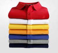 2021 Hot New Crocodile Polo Camiseta Homens Manga Curta Casual Camisas Sólidas do Homem Classic T Camiseta Plus Camisa Polos, R02