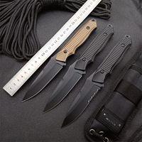 Banco BM 140 BM140 faca tática lâmina fixa alumínio alumínio 154 cm caça de aço autofensor de defesa faca de sobrevivência BM 133 176 3300 ut85 micro