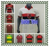 82 90 08 09 Flamengo Retro Soccer Jersey 08 09 82 90 Ibson Kléson Souza Vintage Clássico Comemorate Coleção Flemish Football Shirt