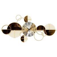 Nordic Light Luxus Wohnzimmer Dekoration Personalisierte kreative Eisenuhr Wanduhr