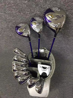 Expédition rapide Ensemble complet Femmes Mesdames Golf Maruman FL IP III Golf Clubs Driver Woods + Irons + putter