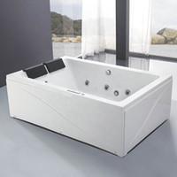 Новый искусственный акриловый 2 человека SPA Whirlpool массажная ванна