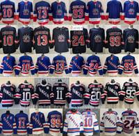 Reverse Retro New York Rangers Jersey Hockey Kaapo Kakko Artemi Panarin Alexis Lafreniere Mika Zibanejad Chris Kreider Mark Messier Gretzky