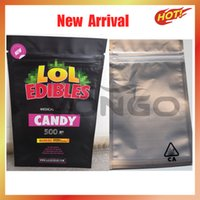 Nuovo LOL EDIBLE Imballaggio LOL Mylar Borse Medibles Edibles Packaging Gummy Chocolate 420 Candy Oldo Proof Mylar Bags Block Block Block