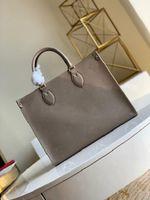 2020 Nouveau Sacs de luxe de luxe originaux de haute qualité de haute qualité Onehego fourre-tout Womens Sac Femme Brown Noir Vieux sac à bandoulière sacs à bandoulière