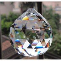 2018 neue hängende klare kristall kugel kugel prisma anhänger spacer perlen für hause hochzeitsfest leichte lampe sqcrdh dh_seller2010