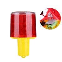 Solar Strobe Lights Tranch Avvertimento Lampada da pesca Pesca Indicatore LED 500 metri Visibile Top Quality