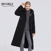 Miegofce Yeni Kış kadın Giyim Ceket Uzun Aşağı Parka Kalınlaşmış Basit Stil Rüzgar Geçirmez Ceket Kadın Ceket Moda Kadın 200928