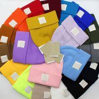 Colorful Kids Beanse chapeau automne hiver enfants tricoté de laine chapeaux de crâne pour garçons filles ski ski chaleur chaude chapeau de bonnet