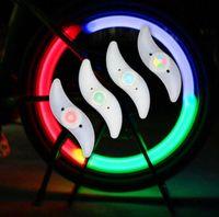 حار بيع دراجة دراجة الدراجات الصمام عجلات المتحدث مصباح سلامة عجلة أضواء دراجة نارية سيارة كهربائية سيليكون وامض إنذار أضواء الملحقات