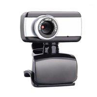 Webcams Webcam Web Câmera para Skype com microfone embutido USB Video Desktop Notebook PC1