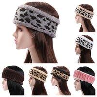 مصممون نسائي ليوبارد رسائل مطبوعة رباطات الأزياء عارضة رياضية شعر ملون بلون فتيات أغطية الرأس Headwrap D121002