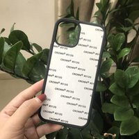 Sublimation Aluminium? Pour coutume avec TPU Soft Soft Phone Case Coque Phone Shell 2D iPhone12Pro PC JJSRQ