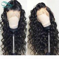 Prepucked Lace Front Front Human Hair Perücken Für Schwarze Frauen Natürliche Farbe Lose Welle Brasilianische Jungfrau Menschliches Haar Perücken Gebleichte Knoten