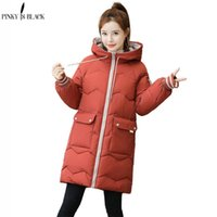 PinkyIsBlack Plus Size 3XL Women Winter Jacket Hooded Stand ...