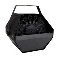 Entrega rápida 25 W AC110V Mini Máquina de bolha fácil de transportar iluminação de palco para casamento / bar / palco preto por atacado