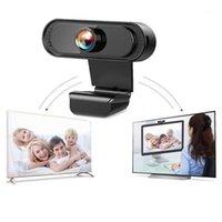 Caméscopes USB 2.0 authentique Full HD 1080p Webcam Caméra Digital Mirculo Auto ordinateur pour PC avec webc Focus Portable P9L41