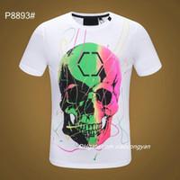 2021 Casual Brand Lettera maschile Stampa Hip-hop Top Streetwear T-shirt per uomo Summer Men Pullover T-shirt manica corta in cotone manica corta # 68 T-shirt